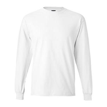 Hanes Beefy-T - 100% Cotton Long Sleeve T-Shirt (5186). Buy blank or ...